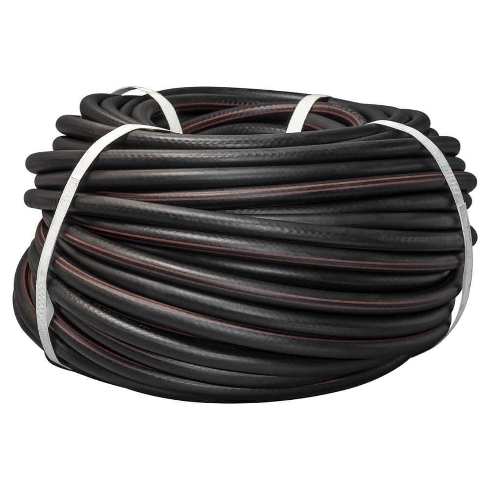 Рукав газовый, d9,0, чёрный с красной полосой