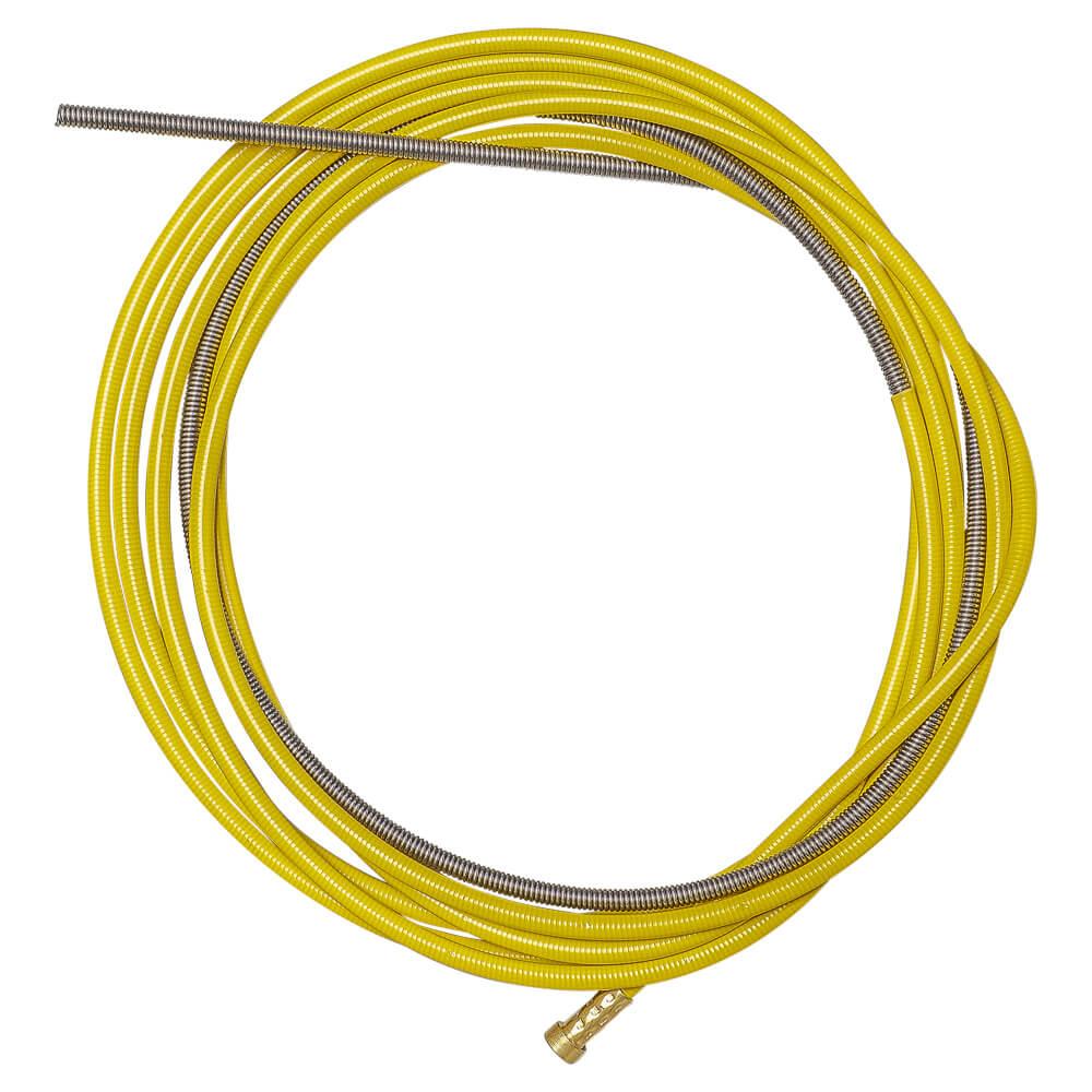 Канал направляющий СТАЛЬ 3,5м Желтый (1,2-1,6мм) OMS1030-03