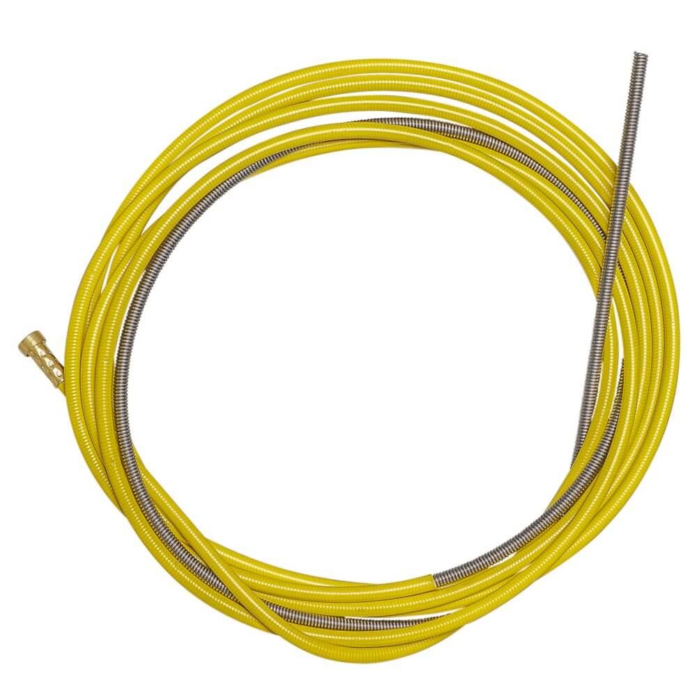 Канал направляющий СТАЛЬ 4,5м Желтый (1,2-1,6мм) OMS1030-04