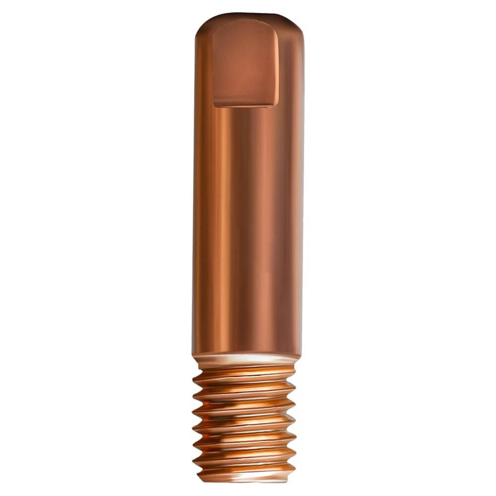 Наконечник сварочный прямой E-CU М6 d1,0мм LED6510-10