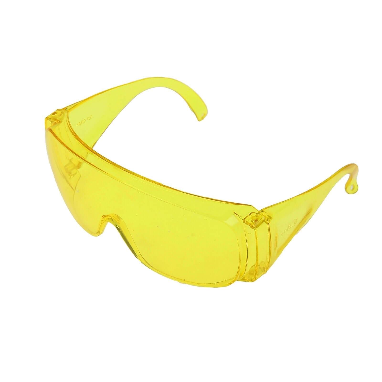 Очки защитные (жёлтые)