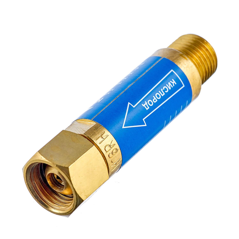 Клапан огнепреградительный кислородный КОК (на резак или горелку) М16х1,5