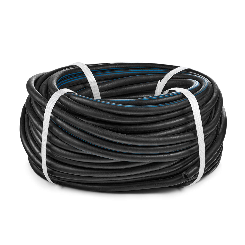 Рукав кислородный, d9,0 ХЛ, черный с синей полосой, бухта 50м
