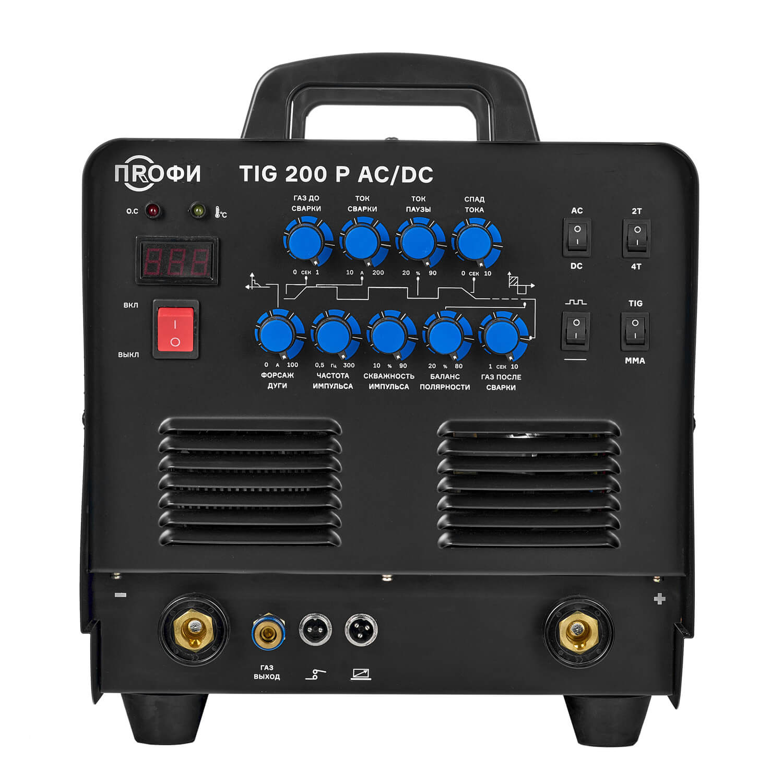 ПРОФИ TIG 200 P AC/DC