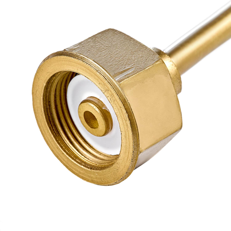 Устройство для заправки баллонов с манометром L=850 мм, G3/4-G3/4
