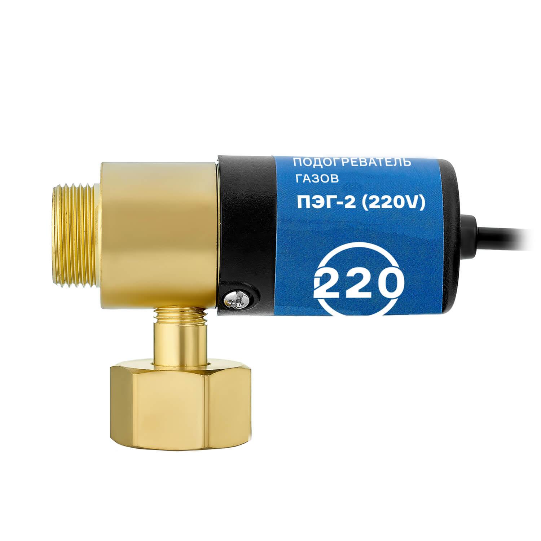 Подогреватель газов ПЭГ-2 (латунь, 220V)