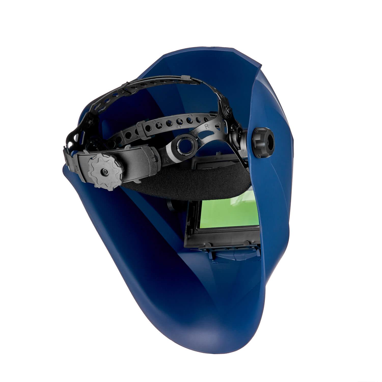 Маска сварщика хамелеон АСФ 777, синяя